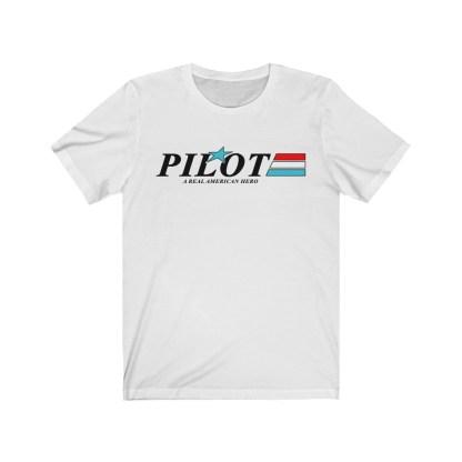 airplaneTees GI Pilot Tee - Unisex Jersey Short Sleeve 2