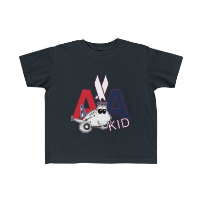 airplaneTees AA Kid Toddler Tee Airbus... Kid's Fine Jersey 3