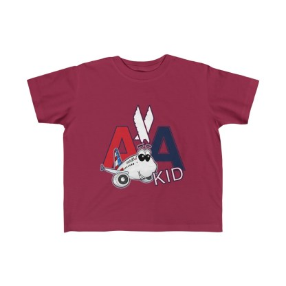 airplaneTees AA Kid Toddler Tee Airbus... Kid's Fine Jersey 6