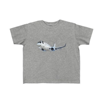 airplaneTees Happy 737 Toddler Tee - Kid's Fine Jersey 3