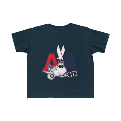 airplaneTees AA Kid Toddler Tee Airbus... Kid's Fine Jersey 4