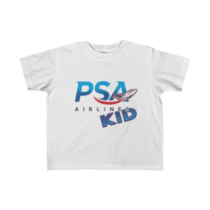 airplaneTees PSA Airlines Kid CRJ Tee... Toddler Kid's Fine Jersey 2