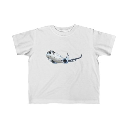 airplaneTees Happy 737 Toddler Tee - Kid's Fine Jersey 2