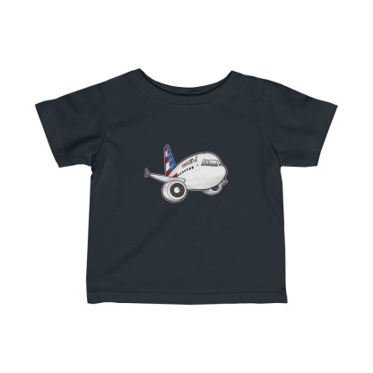 airplaneTees American Airbus Infant Tee... Fine Jersey 4