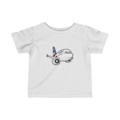airplaneTees American Airbus Infant Tee... Fine Jersey 2