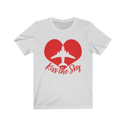 airplaneTees Kiss the Sky - Unisex Jersey Short Sleeve Tee 3
