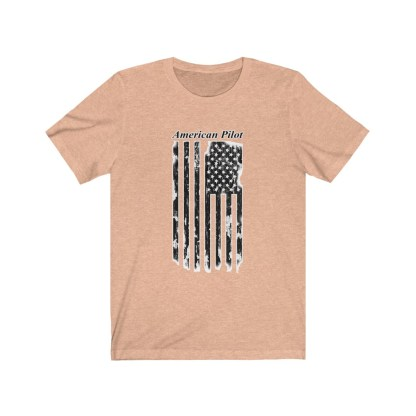 airplaneTees American Pilot Tee - Unisex Jersey Short Sleeve 5