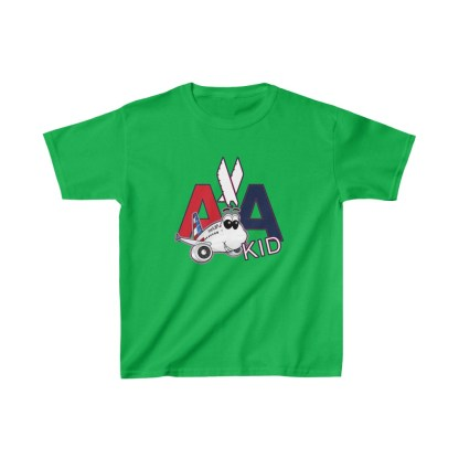 airplaneTees AA Kid Youth Tee Airbus... Kids Heavy Cotton™ 8