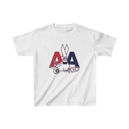 airplaneTees AA Kid Youth Tee Airbus... Kids Heavy Cotton™ 2