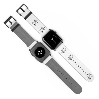 airplaneTees American Airlines Airbus Smiley Apple Watch Band 4