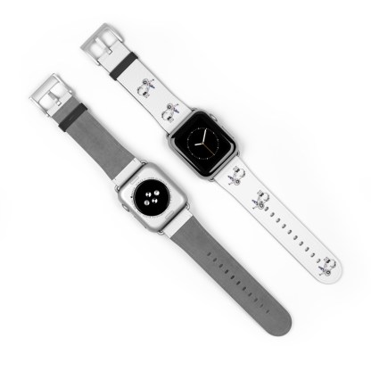 airplaneTees American Airlines Airbus Smiley Apple Watch Band 11