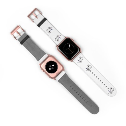 airplaneTees American Airlines Airbus Smiley Apple Watch Band 19