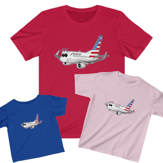 AA smiles 737 Bundle