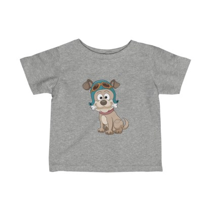 airplaneTees Doggie Pilot Infant Tee... Fine Jersey 3