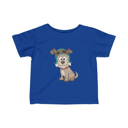airplaneTees Doggie Pilot Infant Tee... Fine Jersey 4