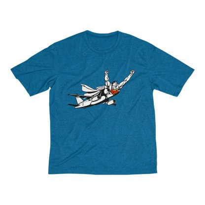 airplaneTees SuperPlane Tee... Men's Heather Dri-Fit 7