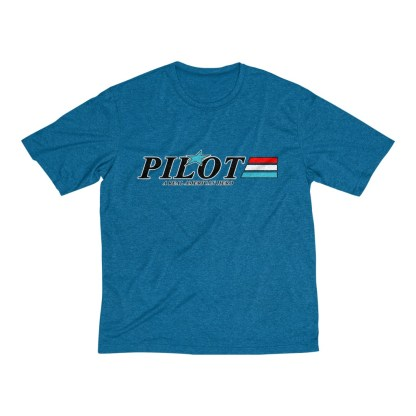 airplaneTees GI Pilot Tee... Men's Heather Dri-Fit 7