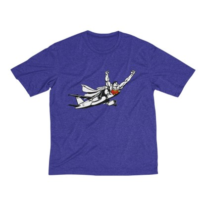 airplaneTees SuperPlane Tee... Men's Heather Dri-Fit 9