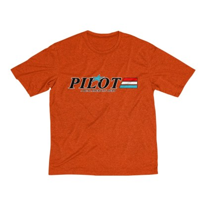 airplaneTees GI Pilot Tee... Men's Heather Dri-Fit 4
