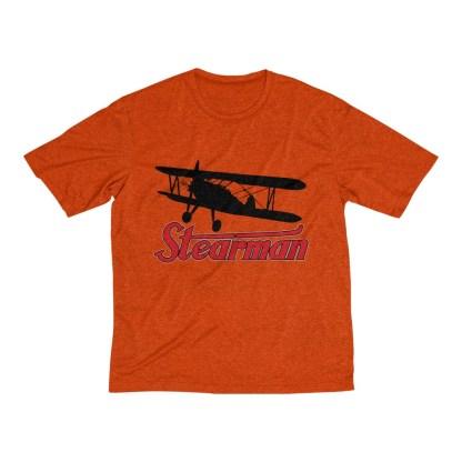 airplaneTees Stearman Tee... Men's Heather Dri-Fit 3