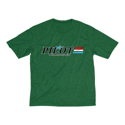airplaneTees GI Pilot Tee... Men's Heather Dri-Fit 1