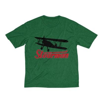 airplaneTees Stearman Tee... Men's Heather Dri-Fit 5