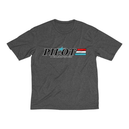 airplaneTees GI Pilot Tee... Men's Heather Dri-Fit 3
