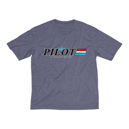 airplaneTees GI Pilot Tee... Men's Heather Dri-Fit 8