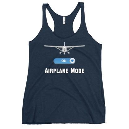 airplaneTees GA Airplane Mode tank top... Women's Racerback 8
