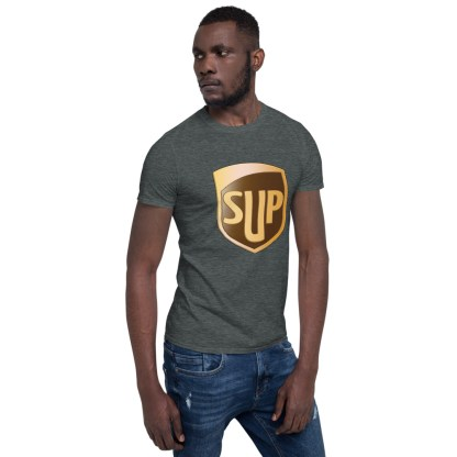 airplaneTees SUP Tee... Short-Sleeve Unisex... UPS Parody Tee 14