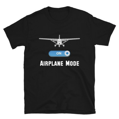 airplaneTees GA Airplane Mode Tee... Short-Sleeve Unisex T-Shirt 1