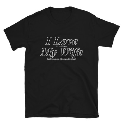 airplaneTees I love it when my wife lets me go fly my drone tee... Short-Sleeve Unisex 5
