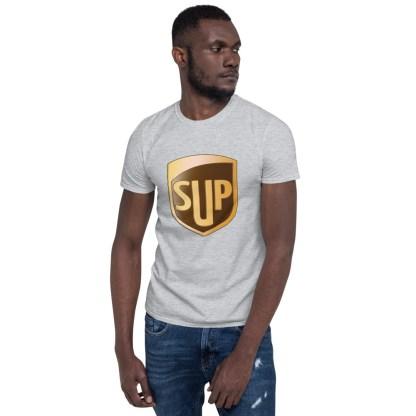 airplaneTees SUP Tee... Short-Sleeve Unisex... UPS Parody Tee 16