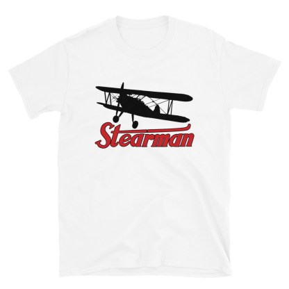 airplaneTees Stearman Tee... Short-Sleeve Unisex 6
