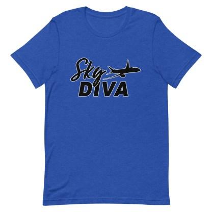 airplaneTees Sky Diva Tee... Short-Sleeve Unisex Black 14