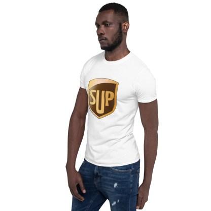 airplaneTees SUP Tee... Short-Sleeve Unisex... UPS Parody Tee 7