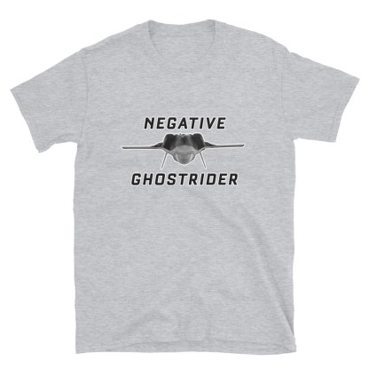 airplaneTees Negative Ghostrider Tee... Short-Sleeve Unisex 1