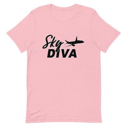 airplaneTees Sky Diva Tee... Short-Sleeve Unisex Black 17