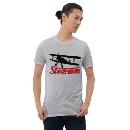 airplaneTees Stearman Tee... Short-Sleeve Unisex 3