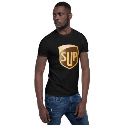 airplaneTees SUP Tee... Short-Sleeve Unisex... UPS Parody Tee 9