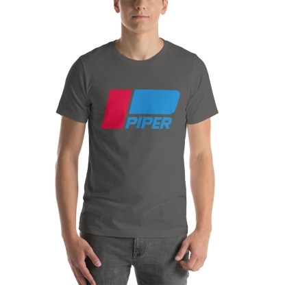 airplaneTees Piper logo tee... Short-Sleeve Unisex 1