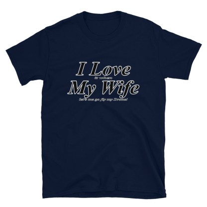airplaneTees I love it when my wife lets me go fly my drone tee... Short-Sleeve Unisex 6