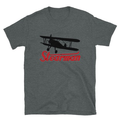 airplaneTees Stearman Tee... Short-Sleeve Unisex 8