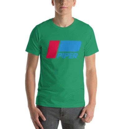 airplaneTees Piper logo tee... Short-Sleeve Unisex 9