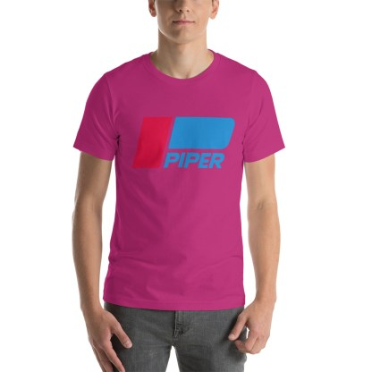 airplaneTees Piper logo tee... Short-Sleeve Unisex 15