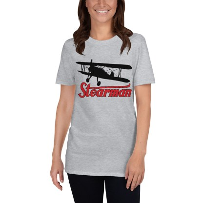 airplaneTees Stearman Tee... Short-Sleeve Unisex 4