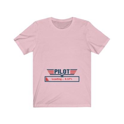 airplaneTees Preggo Pilot Tee... Unisex Jersey Short Sleeve 1