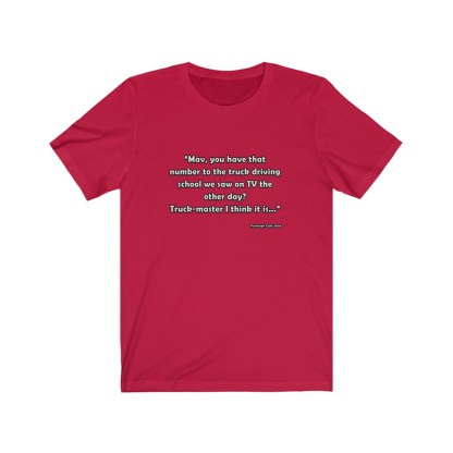 airplaneTees Goose Quote Tee... Unisex Jersey Short Sleeve 1