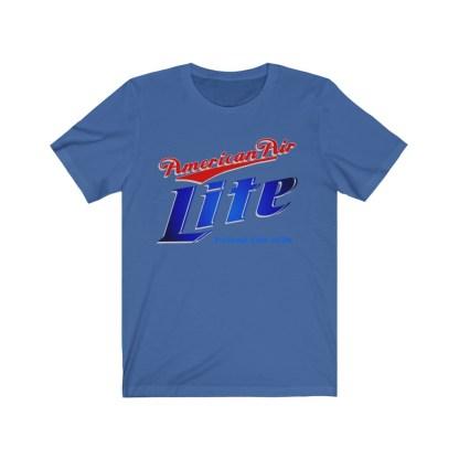 airplaneTees American Air Lite Tee... Unisex Jersey Short Sleeve 11