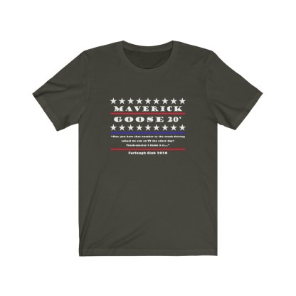 airplaneTees Maverick and Goose 2020 Tee... Unisex Jersey Short Sleeve 8